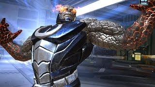 Injustice: Gods Among Us - Darkseid Super Attack Moves [iPad] [REMASTERED]