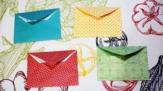 getlinkyoutube.com-Origami Envelopes - How to make an Origami Envelope / วิธีพับซองจดหมายแบบง่าย