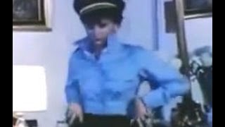 Blouse Collar Upturned Sexy Policewoman Dance