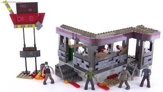getlinkyoutube.com-Mega Bloks Call of Duty Zombies Tranzit Diner review!