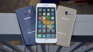 iPhone 6s Plus vs Galaxy Note 5 / S6 Edge+