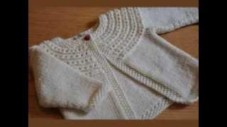 getlinkyoutube.com-Easy Knit Baby Cardigan