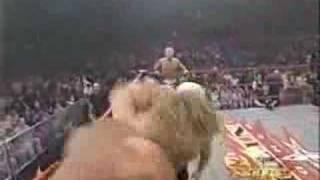 getlinkyoutube.com-Scott Steiner and Jeff Jarrett Vs. Sid and Hulk Hogan