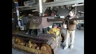 getlinkyoutube.com-Homemade Panzer Tank Replica Part 1