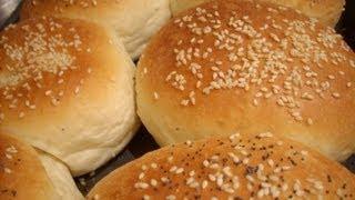getlinkyoutube.com-HamBurger buns (Arabic Subtitles) - Fatemahisokay وصفة خبز البرغر