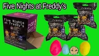 getlinkyoutube.com-Five Nights At Freddys Game Mystery Surprise Blind Bags Toy Unboxing Cookieswirlc Video