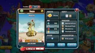 getlinkyoutube.com-Monster Legends Medussha subiendo de nivel 1 al 90