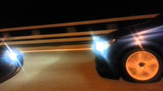 getlinkyoutube.com-Opel Astra H OPC (300 Hp) vs VW Golf R (300+ hp)