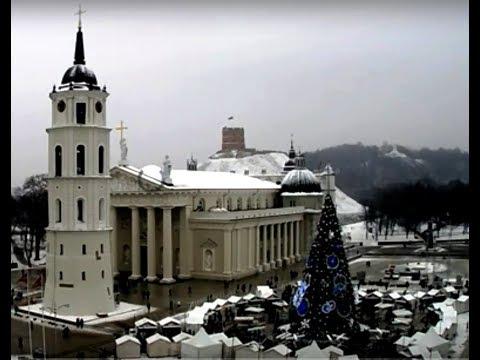 Главная елка Вильнюса, Рождество / Vilnius, Kalėdos / Christmas