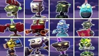 getlinkyoutube.com-Plants vs. Zombies: Garden Warfare 2 - All Bots (New Spawnable Turrets)