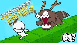 getlinkyoutube.com-Cabeçudos Naufragados! - Battleblock Theater #1