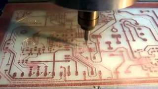 getlinkyoutube.com-PCB on CNC