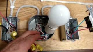 getlinkyoutube.com-3 Way Switch - 3 typical ways to wire