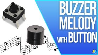 getlinkyoutube.com-Arduino Basic Tutorial 09 : Button Buzzer Melody