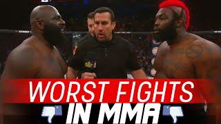 getlinkyoutube.com-The Worst Fights In MMA