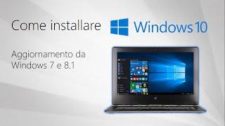 getlinkyoutube.com-Come installare Windows 10 aggiornando da Windows 7 o 8.1