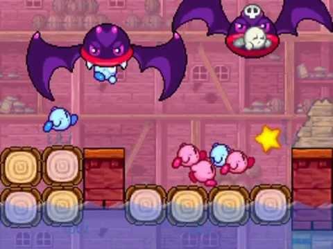 Kirby Mass Attack vore