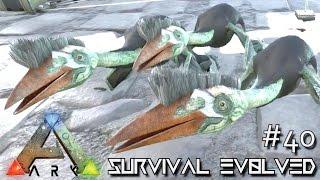 getlinkyoutube.com-ARK: Survival Evolved - TRIPLETS BABY QUETZALCOATLUS !!! [Ep 40] (Server Gameplay)