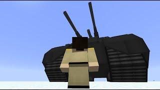 getlinkyoutube.com-Minecraft Flans Mod: World's Biggest Tank