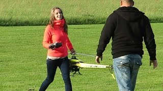 getlinkyoutube.com-JENNY BRANDT (18) FLYING THE RC MODEL HELICOPTER SAB GOBLIN 630 3D AEROBATICS / Taiga Meeting 2014