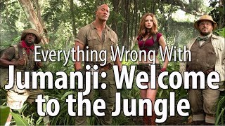 Everything Wrong With Jumanji: Welcome to the Jungle