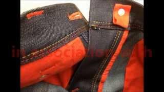 getlinkyoutube.com-Making of blue-jeans RAW - designer jeans men's style