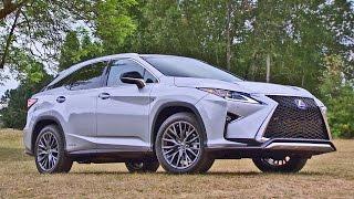 getlinkyoutube.com-2016 Lexus RX 450h F SPORT - Footage