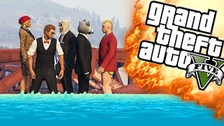 SYNCHROON DUIKEN! - GTA 5 Online Funny Moments