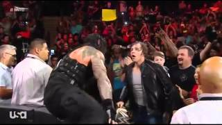 getlinkyoutube.com-Dean Ambrose Save Roman Reigns From The Authority