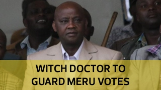 getlinkyoutube.com-Here is the witch doctor who will protect Kiraitu, Aburi votes on August 8