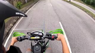 getlinkyoutube.com-Kawasaki KLX 150 test