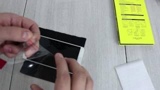 getlinkyoutube.com-JETech Premium Tempered Glass Screen Protector Note 5 Review