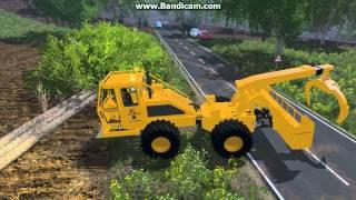 getlinkyoutube.com-Lokomo 928 Debusqueur Forestier Farming Simulator 2015