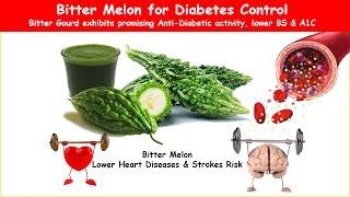 getlinkyoutube.com-Diabetes Herbal Bitter Melon/Gourd; Lower BS & A1C