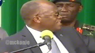 Mabishano ya rais magufur na tajili matata alikadhalika mzee 900 inapendeza zaid