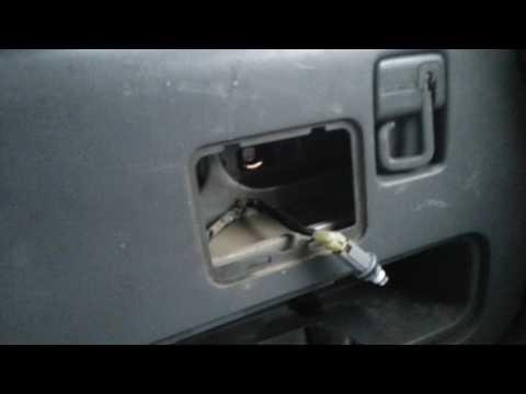 Honda crv RD1 1996 - меняем подсветку номера