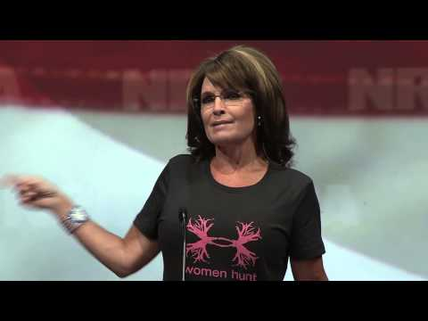 2013 NRA Annual Meetings: Sarah Palin