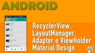 RecyclerView, Material Design Android - Parte 2