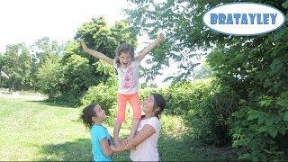 getlinkyoutube.com-Cute Cheerleading Stunts! (WK 183.4) | Bratayley