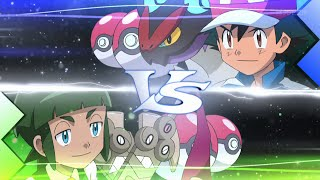 getlinkyoutube.com-Ash vs Shota [4TH BATTLE] | Full 3v3 Match - Pokemon XY&Z Episode 26