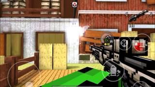 getlinkyoutube.com-Pixel gun 3D: IMPULSE SNIPER RIFLE - Gun Review