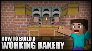 getlinkyoutube.com-How to Make a Working Bakery in Minecraft