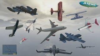 getlinkyoutube.com-GTA V - Every Airplanes Gameplay HD