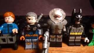 getlinkyoutube.com-Custom Lego DC Comics Minifigures (Batman Villains Mostly)