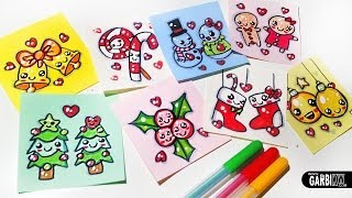 getlinkyoutube.com-Merry Christmas -  Easy Drawings and Kawaii by Garbi KW
