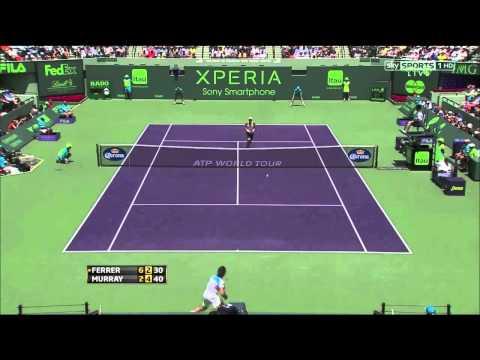 Andy Murray vs David Ferrer Miami 2013 FINAL HIGHLIGHTS [HD]