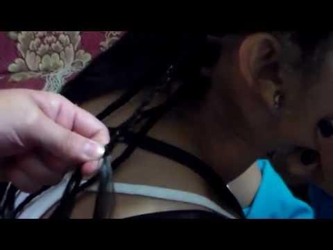 Trenzas con hilo, africanas Braids (I parte)