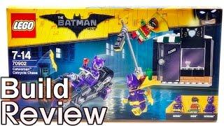 [생방송 레고 조립 리뷰] 레고 배트맨 무비 70902 캣우먼의 캣사이클 추격전 LEGO Batman Movie Catwoman Catcycle Chase