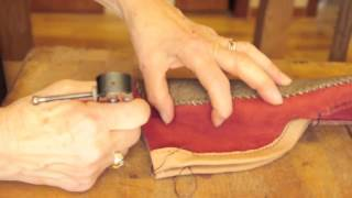 getlinkyoutube.com-simple shoemaking: How to make the chukka moccasin