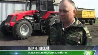 getlinkyoutube.com-Самодельный трактор собрал механизатор из Костанайского района